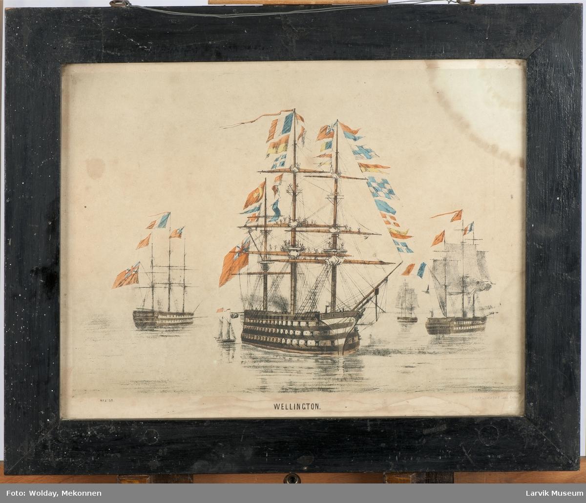 Krigsskipet Wellington