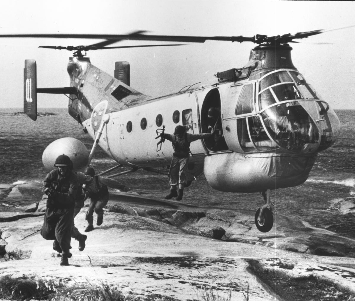 Övrigt: Helikopter för landning