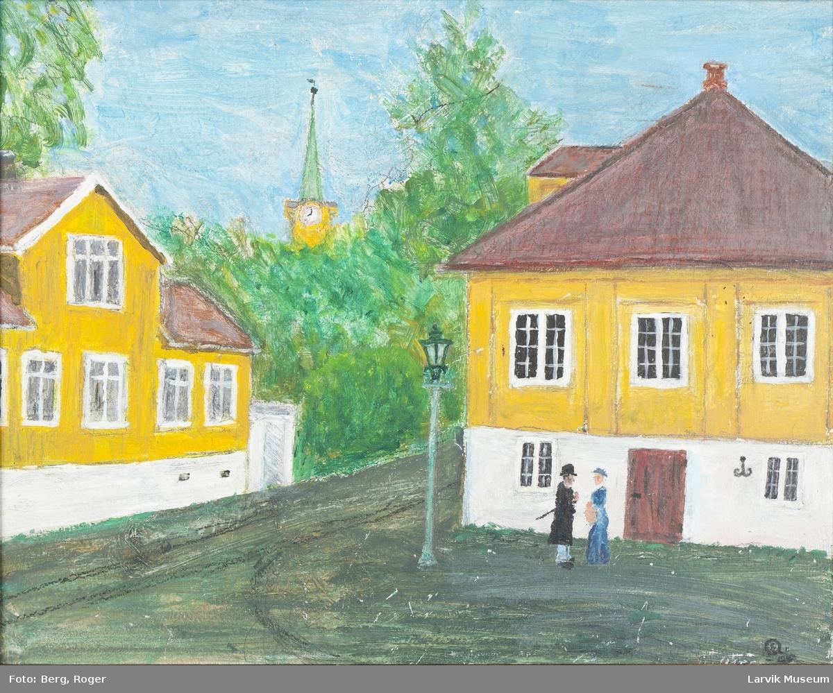 Kirkestredet, Sjøfartsmuseet Larvik.