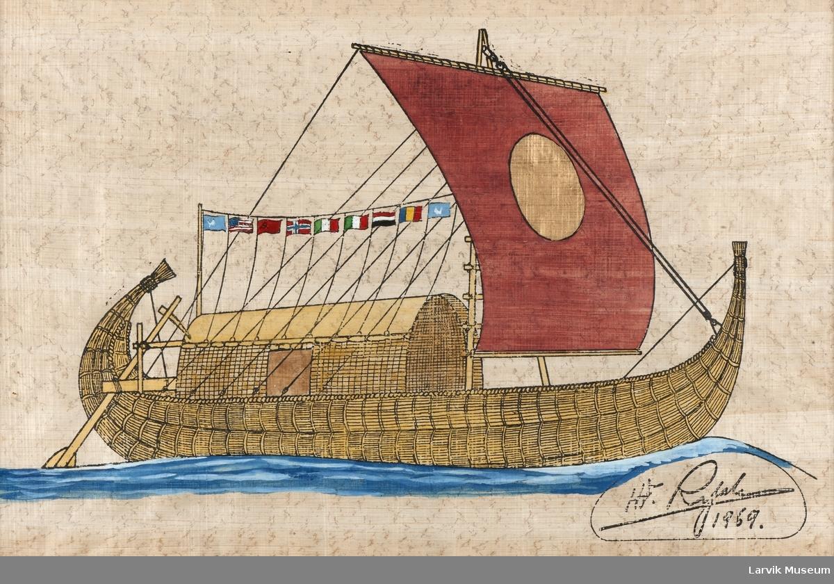 Ra, papyrusbåt