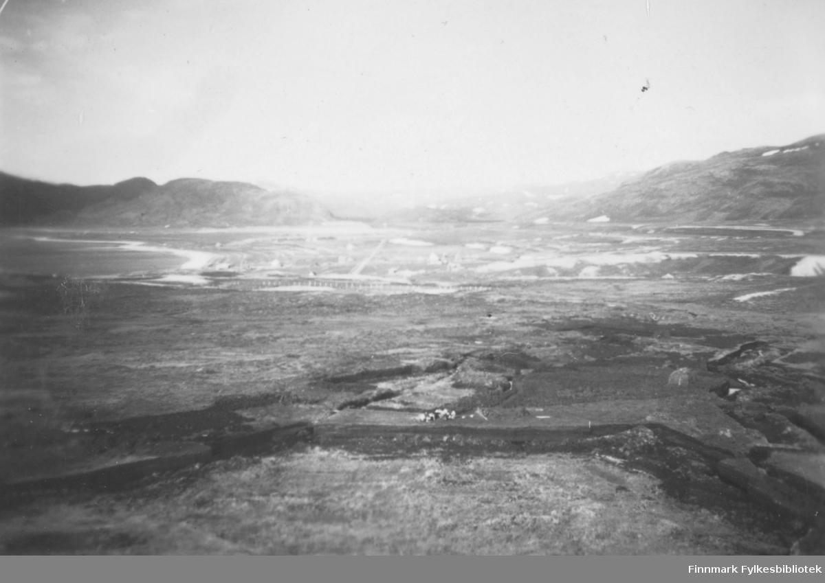 Utsikt over torvmyr i Kokelv