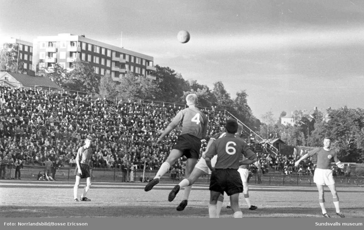 Fotboll, GIF Sundsvall-Modo, oavgjort.