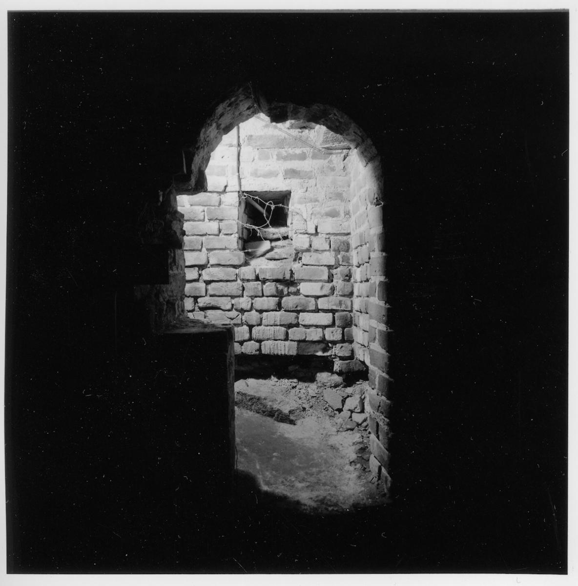Interiör. Torpa stenhus Länghem  är en så kallad enkelhusborg från 1400-talet och är mest känd som sätesgård för släkten Stenbock.