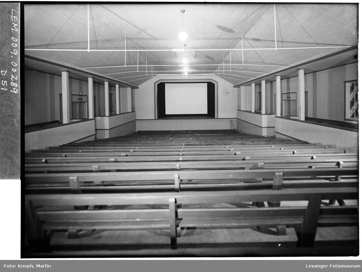 Den nye kinosalen på Steinkjer.