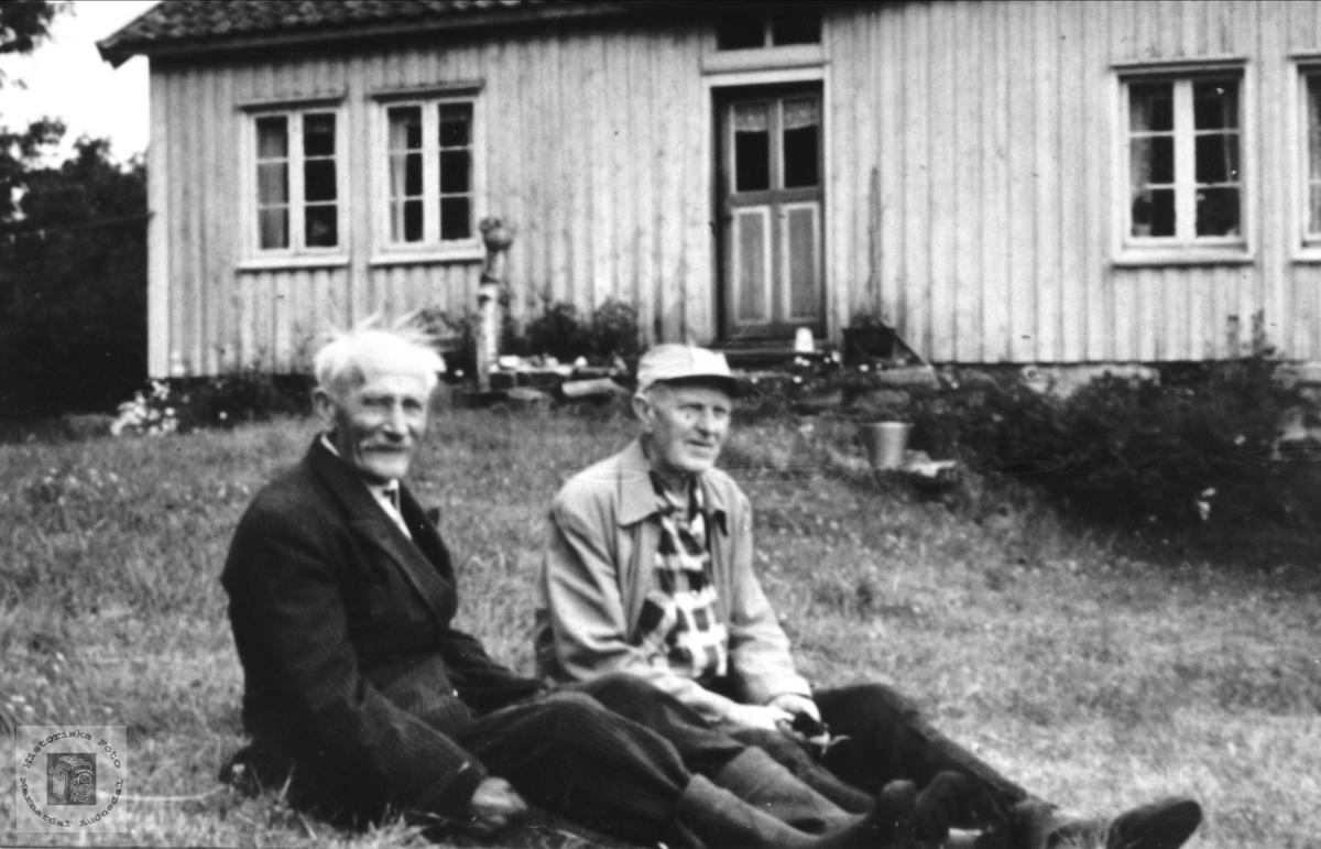 Anders Heståsen og Gunnar Årstøl
