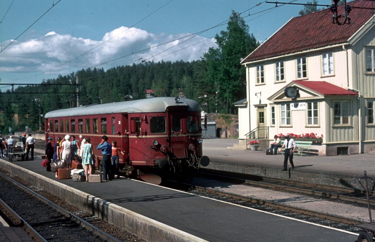 Persontog til Kragerø i Neslandsvatn.