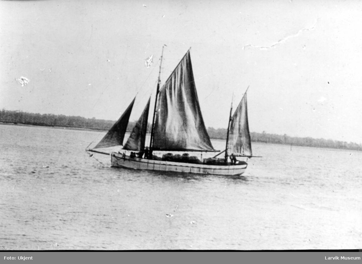 Fartøy, fiskekutter, seilskip