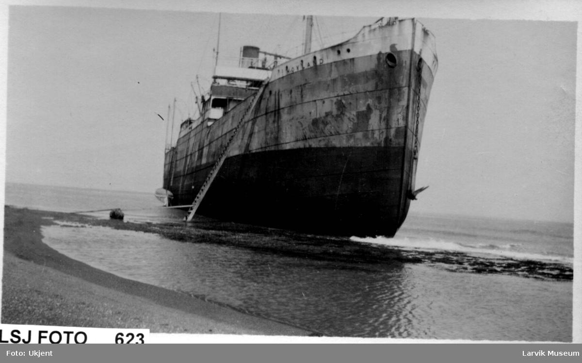 "fartøy, dampskip, s/s ""Hovland"""