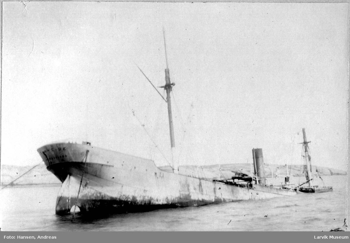 Fartøy, dampskip, s/s Fernside.
