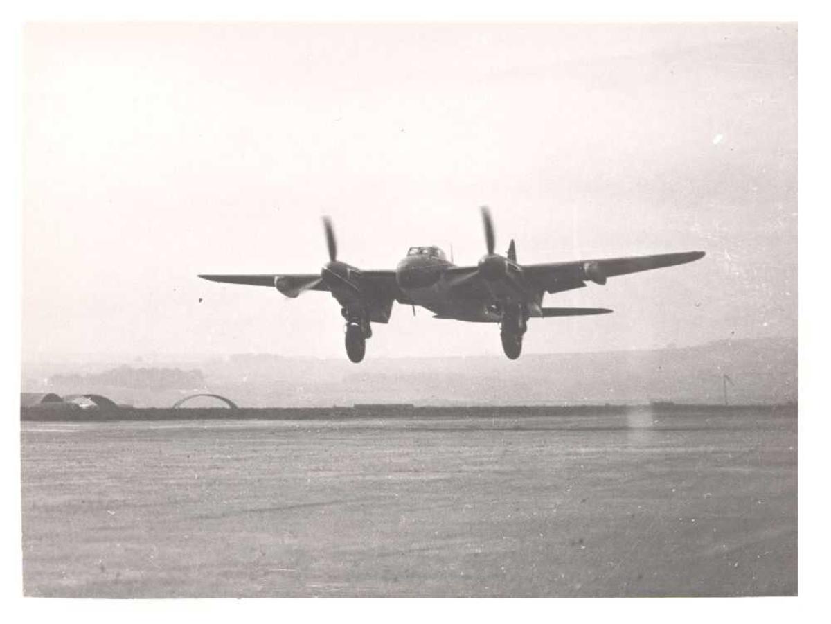 Fly i luften.De Havilland Mosquito F Mk.II