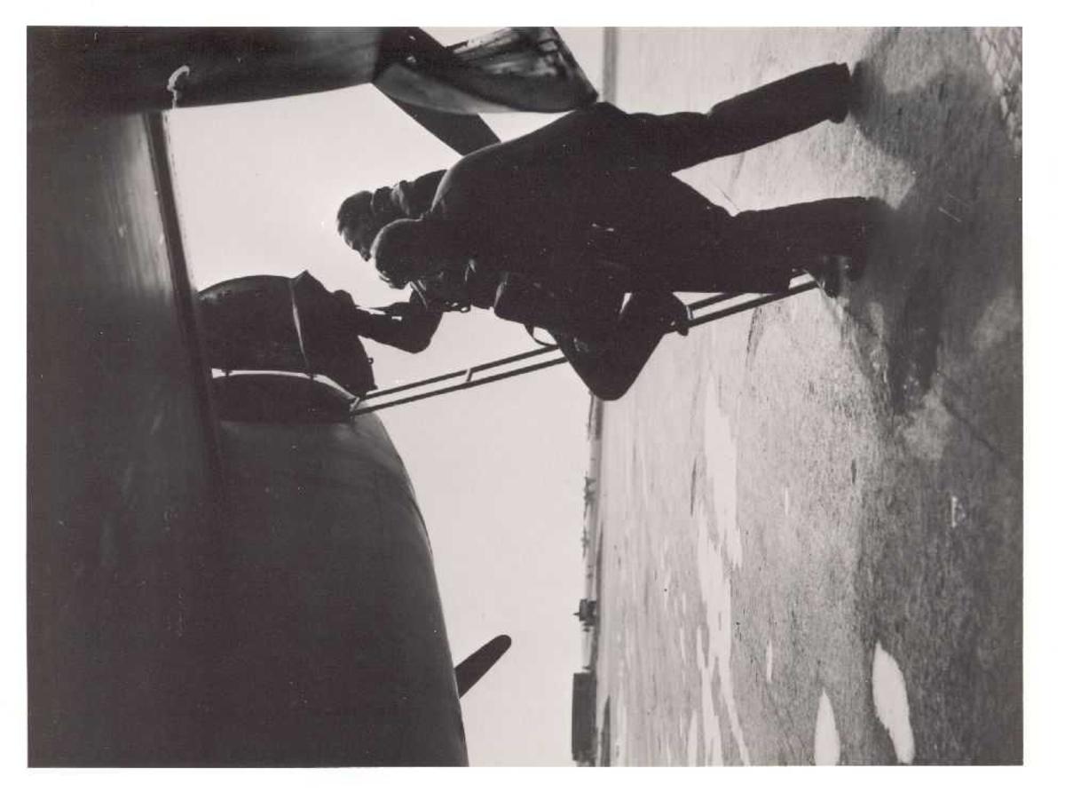 Fly på bakken. De Havilland Mosquito F Mk.II