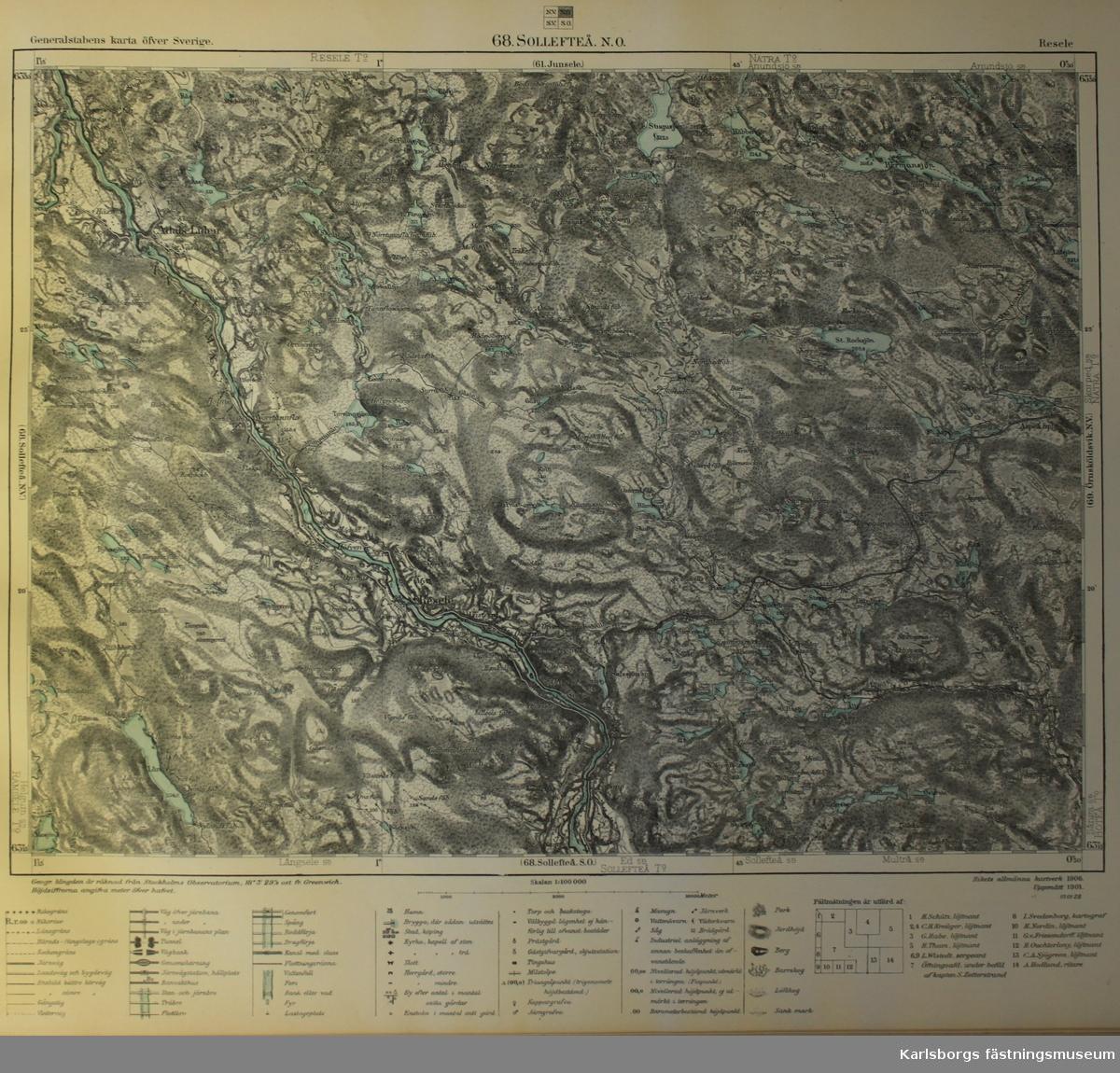 Junsele Karta Sverige.Karta Karlsborgs Fastningsmuseum Digitaltmuseum