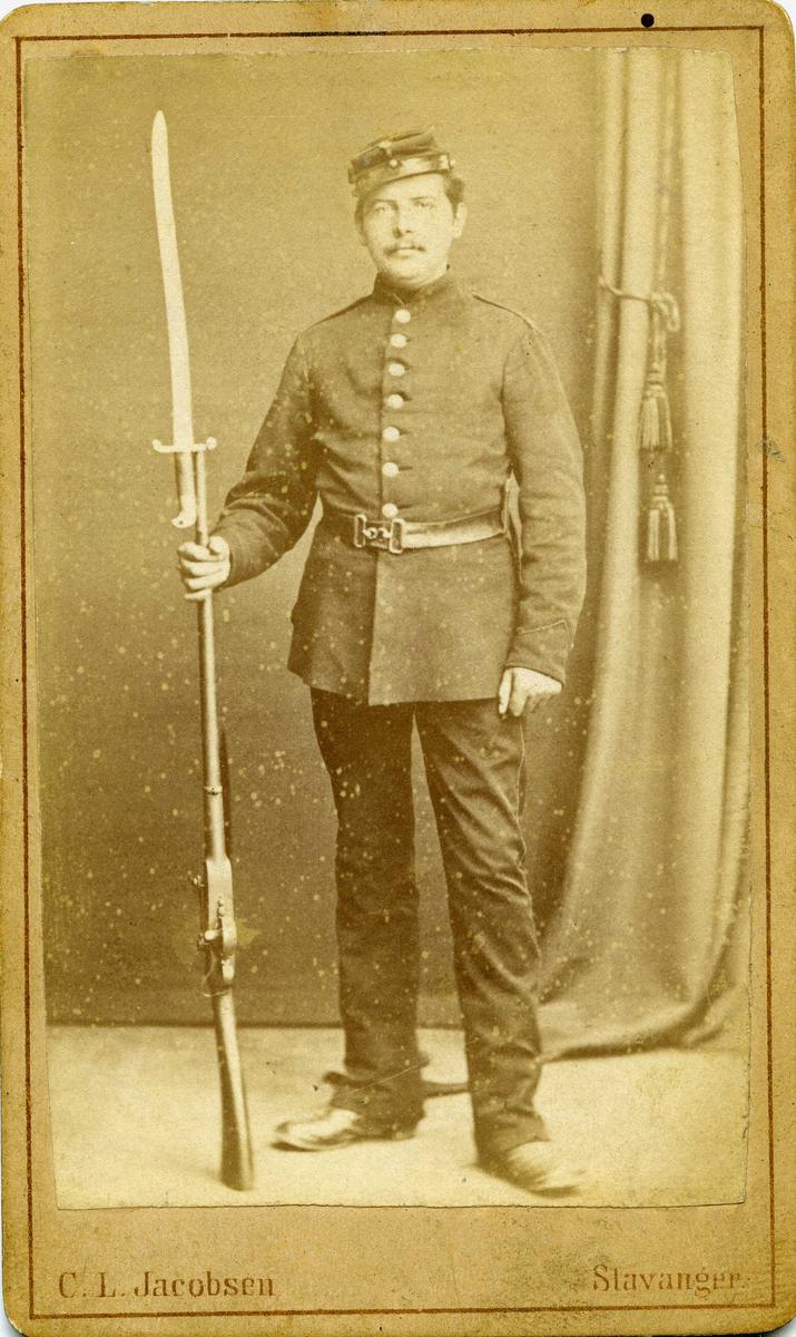 Portrett - Alexander Olsen (danske) 1876.