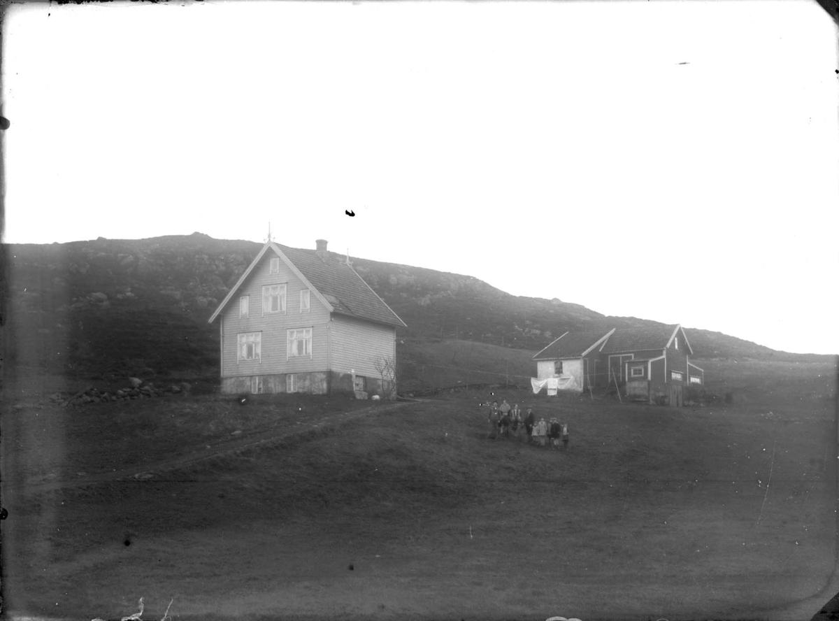 Landskap - Gårdshus.
