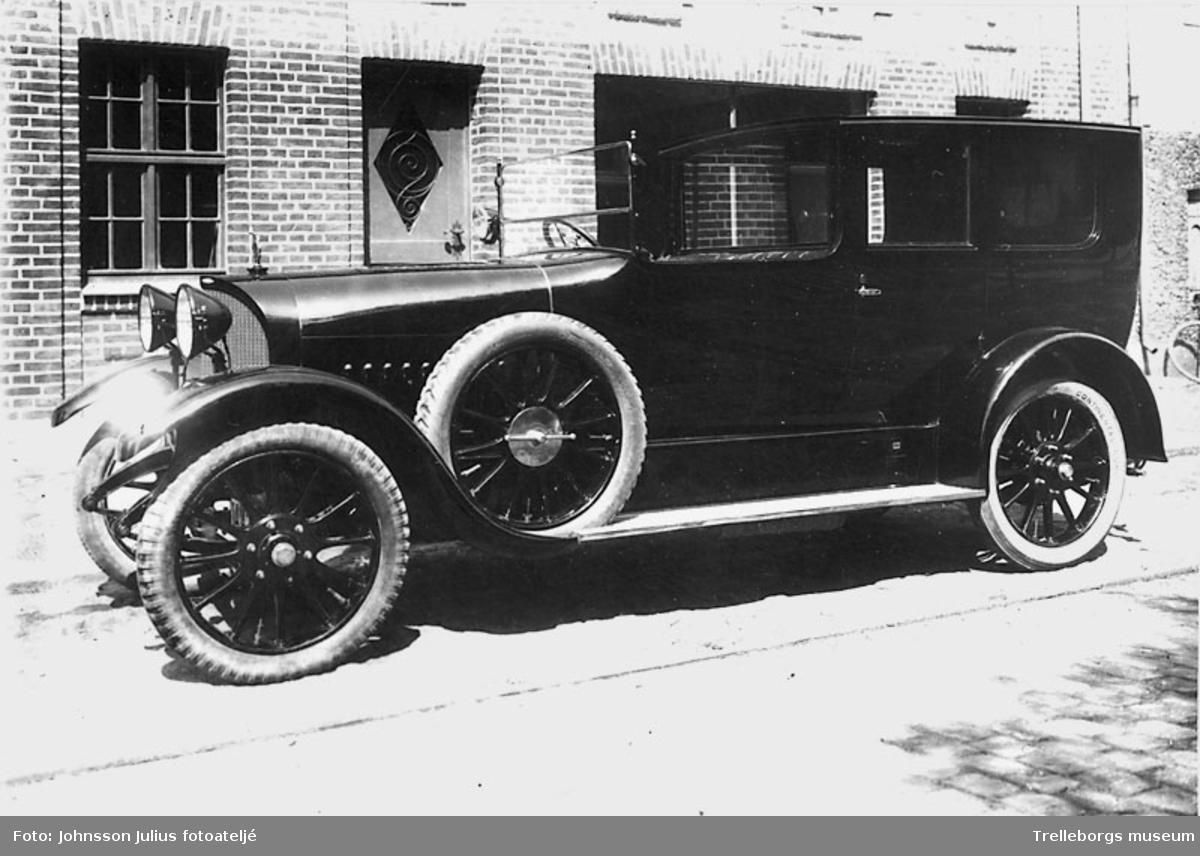 Nordisk Transports bil, Opel, cirka 1920 .Negativ Johnsson 4776.