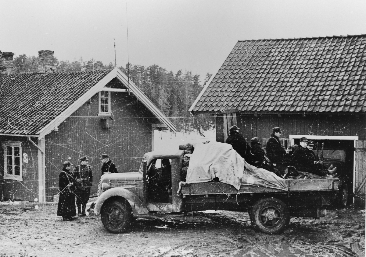 Norske soldater. 1940. Østerdalen.