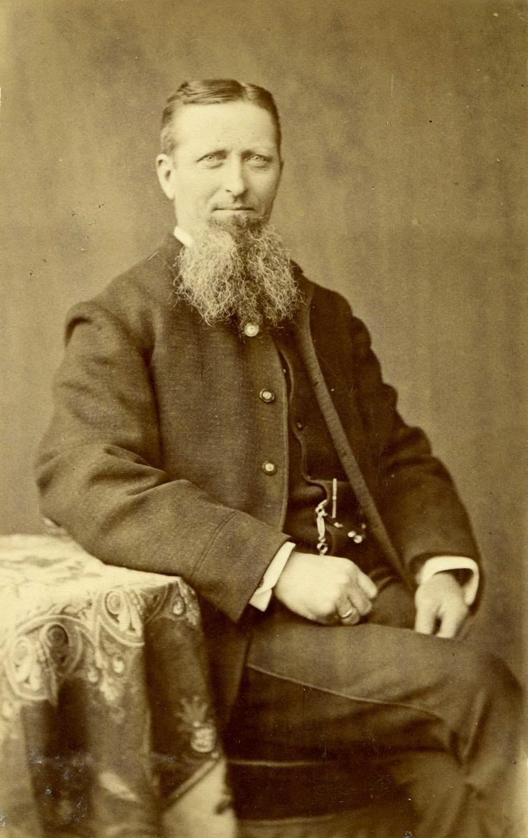 Portrett - Jacob Christian Jacobsen, Simon Jacobsens bror.