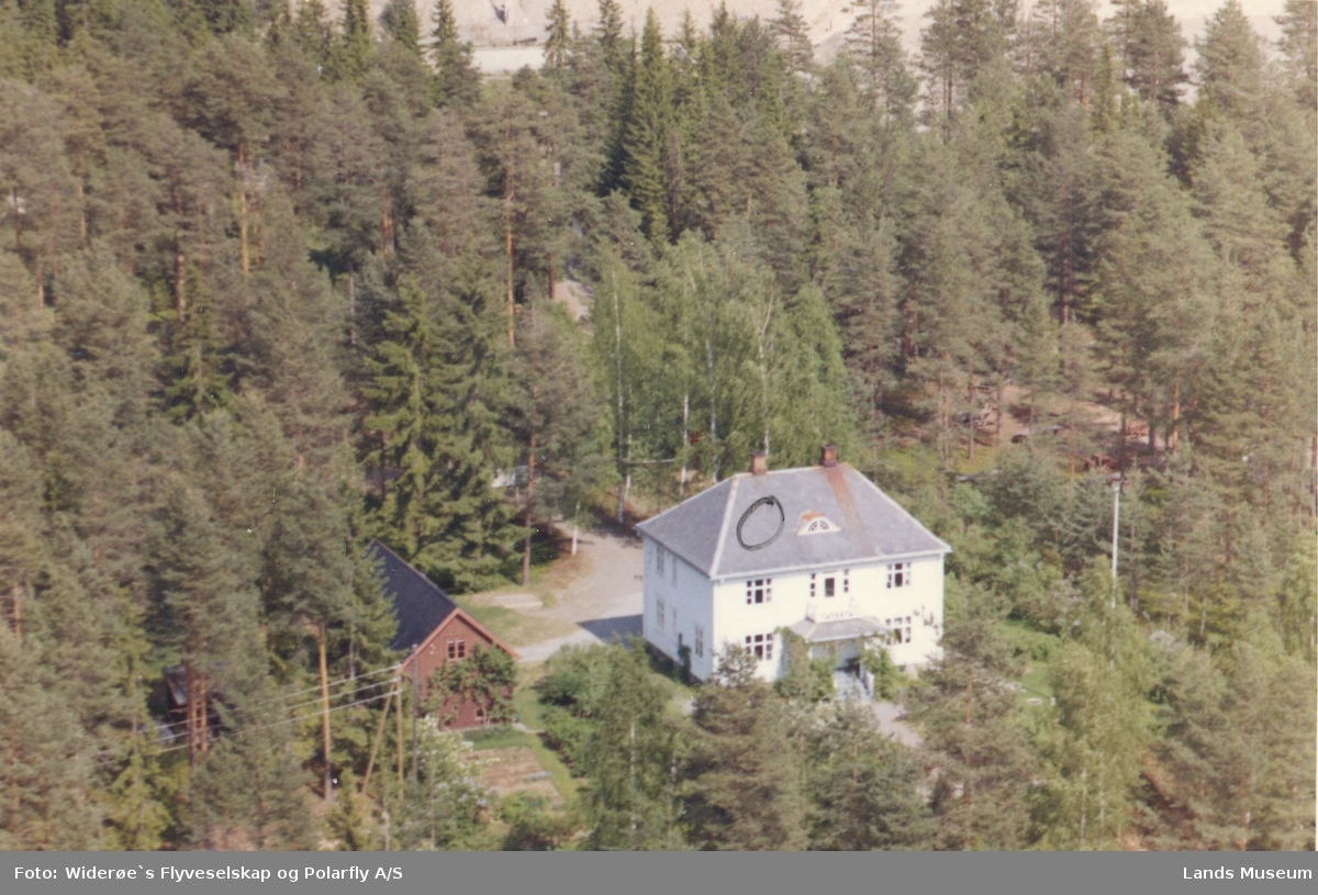 Flyfoto Jemtlands villa, Heia