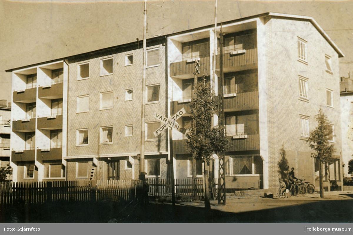 Fyravåningshus på Nygatan