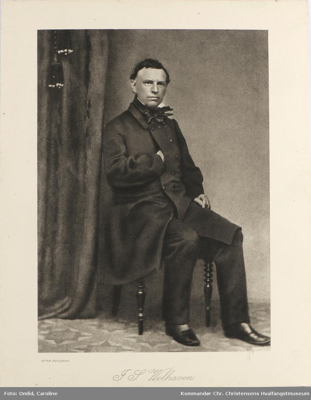 Portrett av J.S. Welhaven
