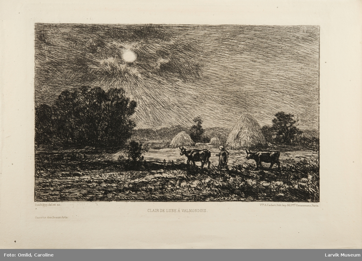 Clair de Lune a Valmondois.