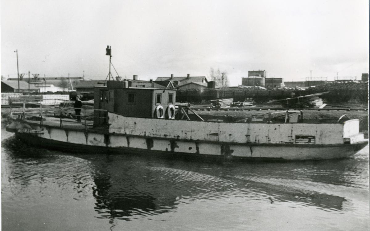 Sandö efter omnbyggnaden 1956.