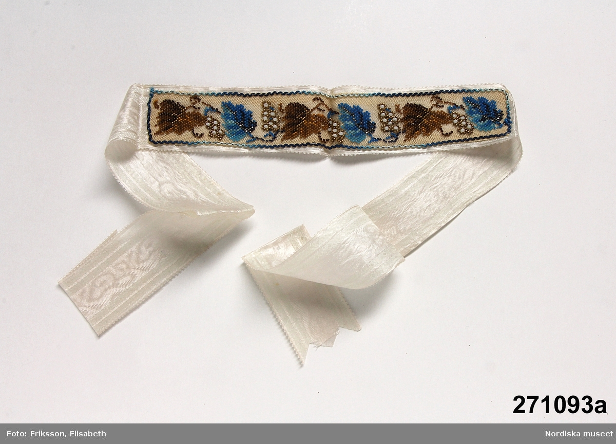 Strumpeband - Nordiska museet   DigitaltMuseum 55b4db9dd90a4