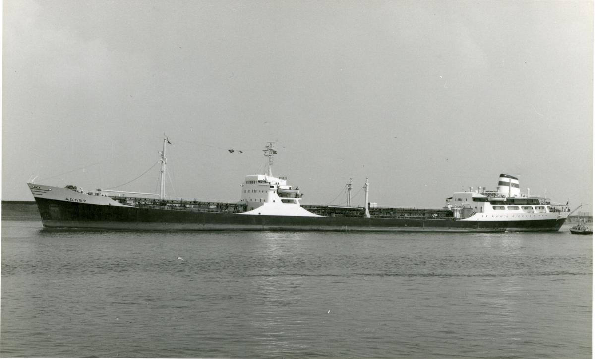 Ägare:/1969-83/: S.S.S.R. - Latvian Shipping Co. Hemort: Ventspils.
