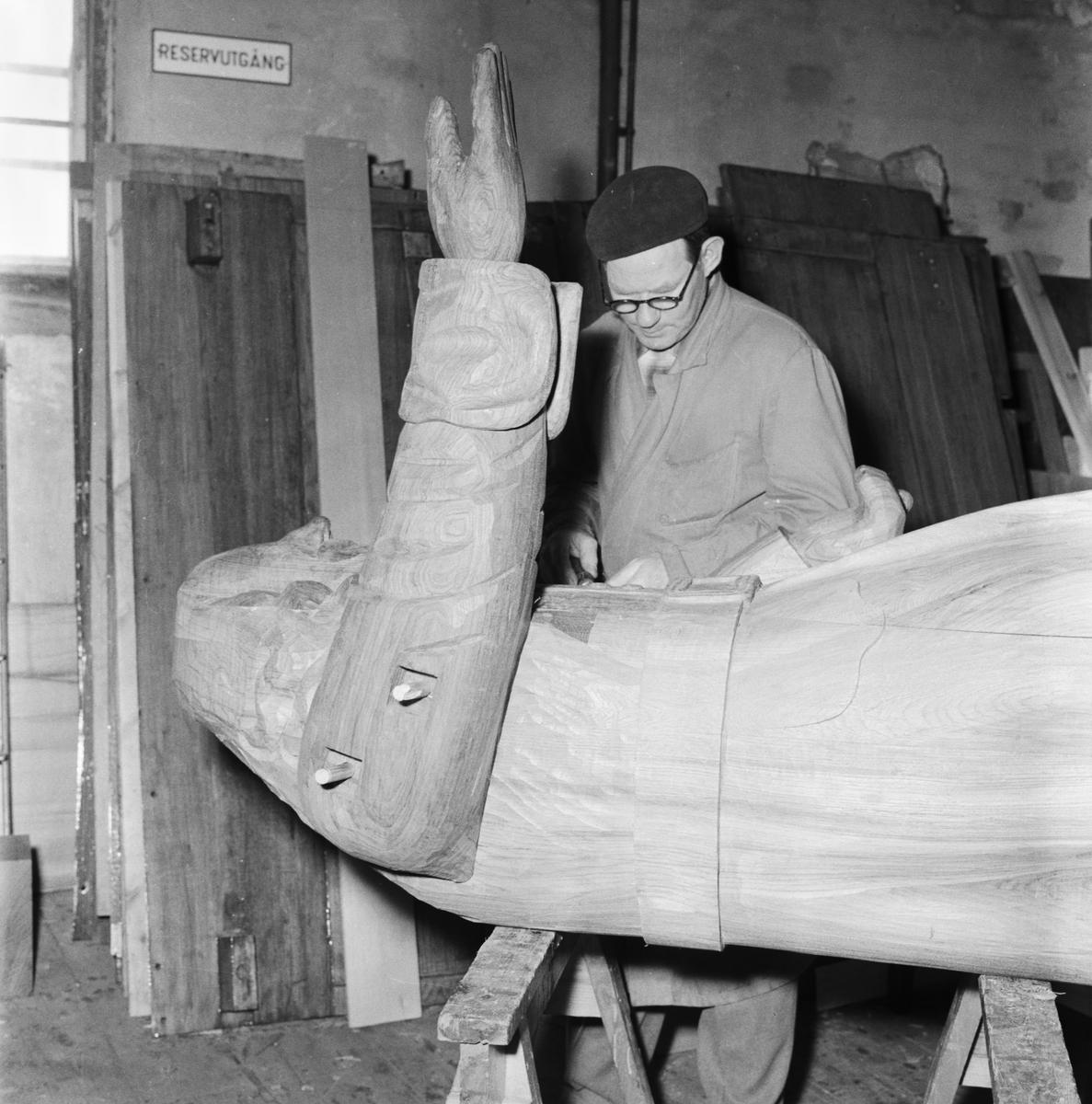 Övrigt: Foto datum: 28/7 1956 Byggnader och kranar Rosenbom nytillverkning