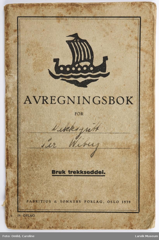 Avregningsbok