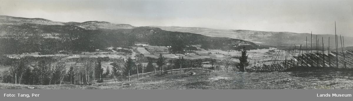 Foto utsikt fra Rustaden mot Nordsinni østside