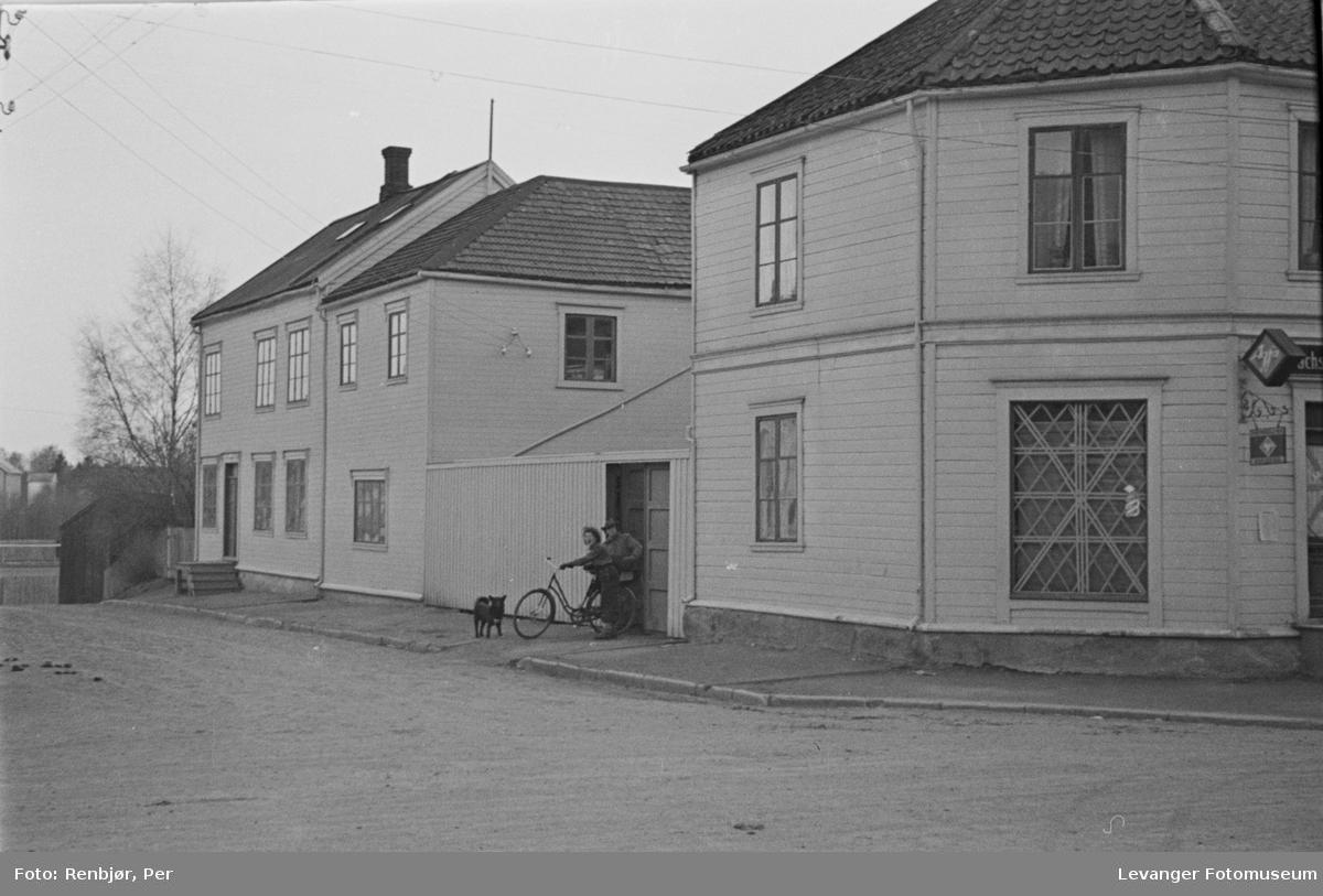 Trehus i Håkon den godes gt., Levanger