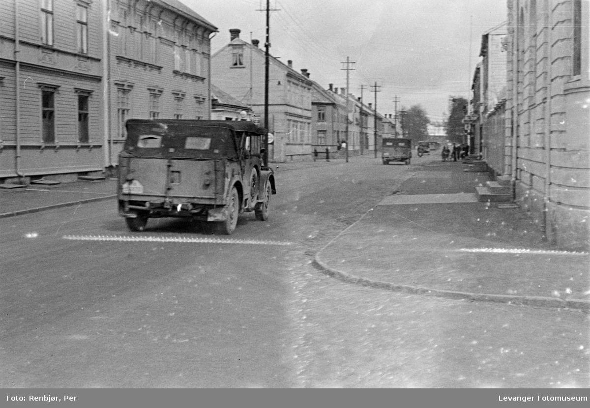 Tyske kjøretøyer i Kirkegata