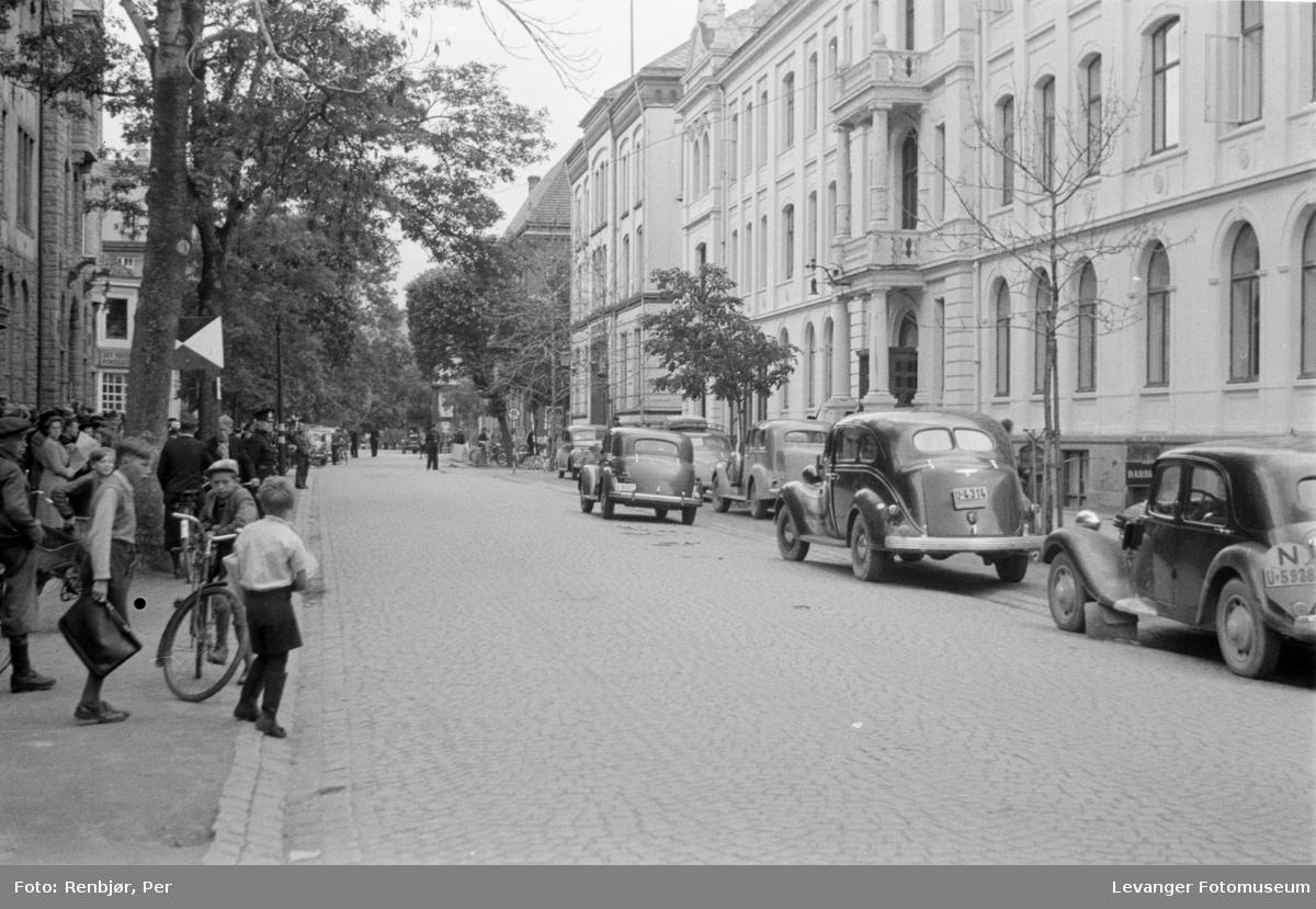 Arrestasjoner i Trondheim fredsvåren.