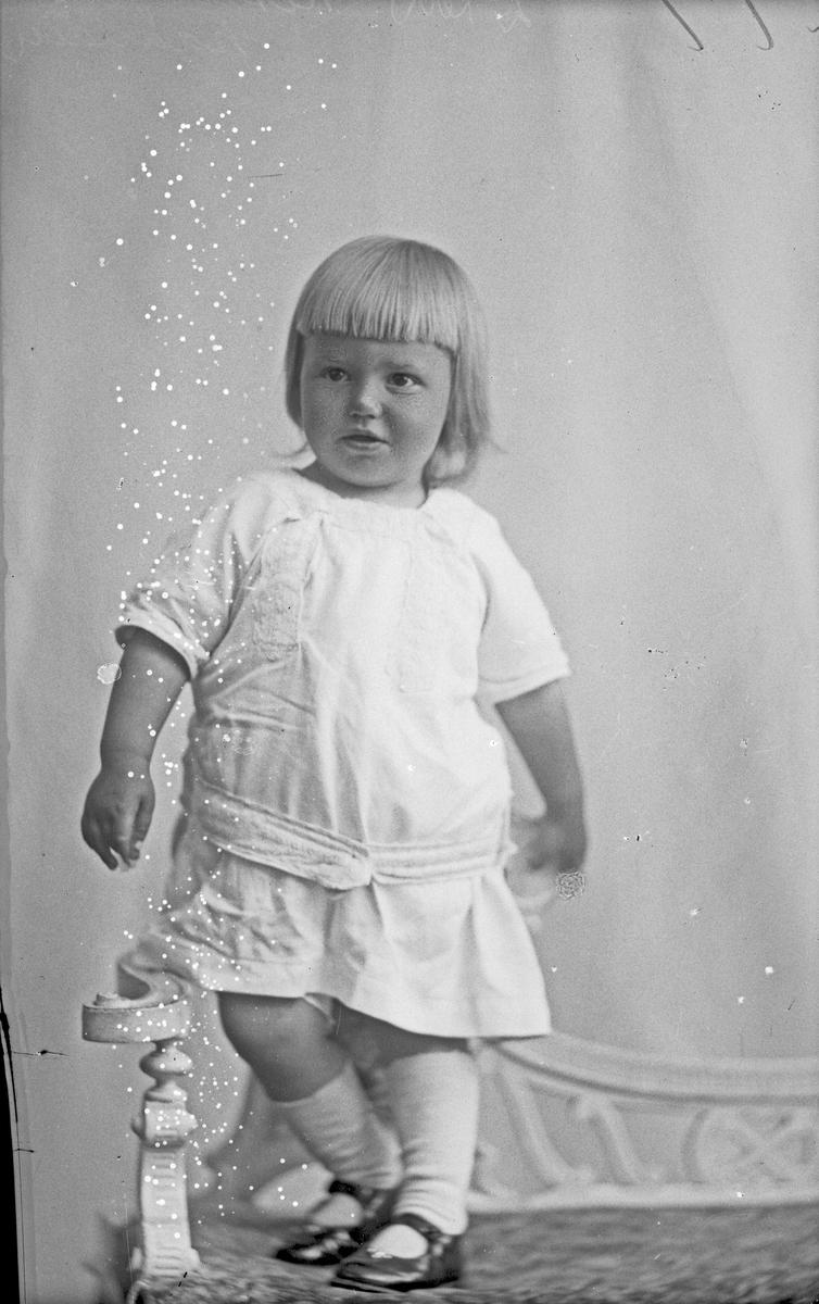 Portrett: datteren til Kristine Gundersen
