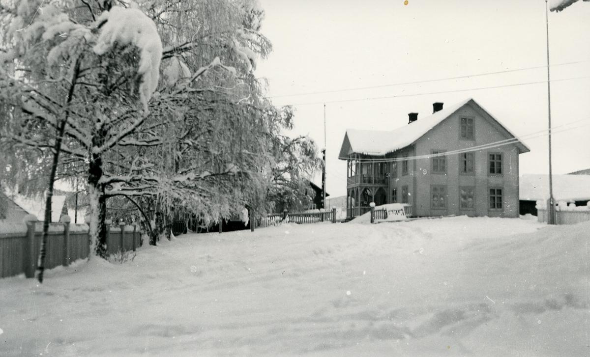 Gårdstun/landhandel, Magistad i Vestre Slidre