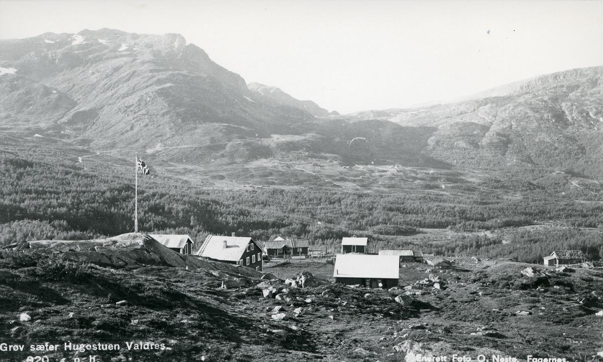 Utsikt fra Grøv seter i Vang