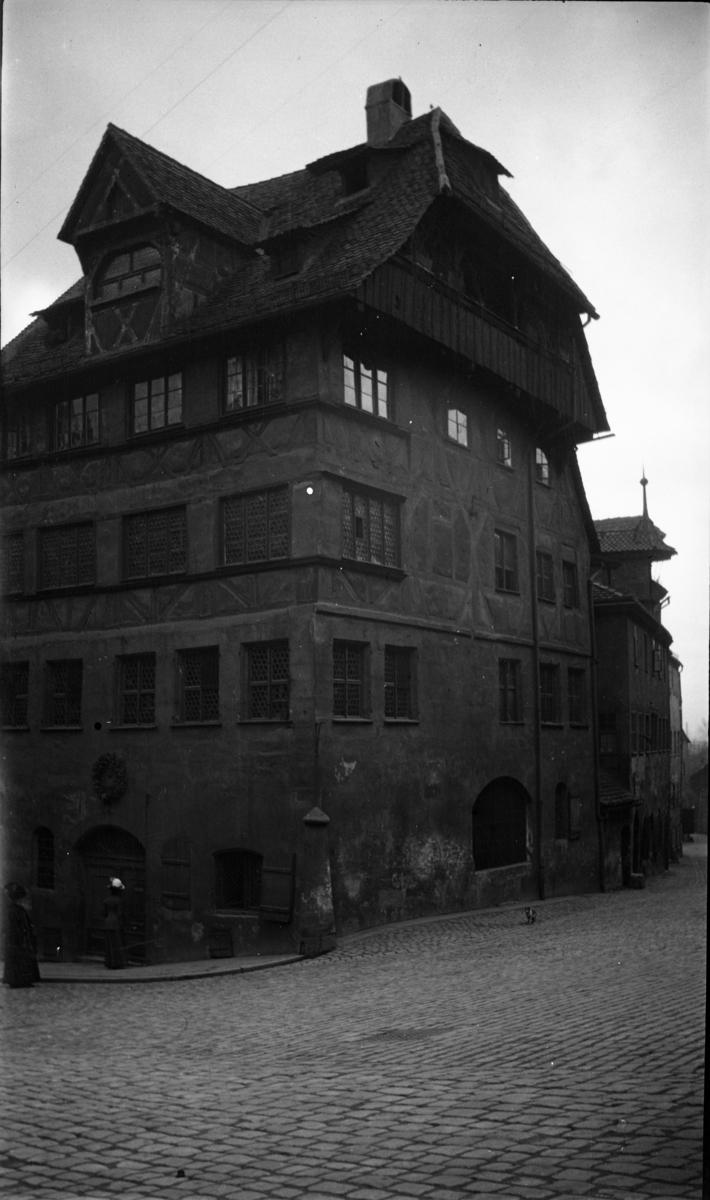 Nürenberg fotoarkivet etter gunnar knudsen feriebilde nürenberg tyskland