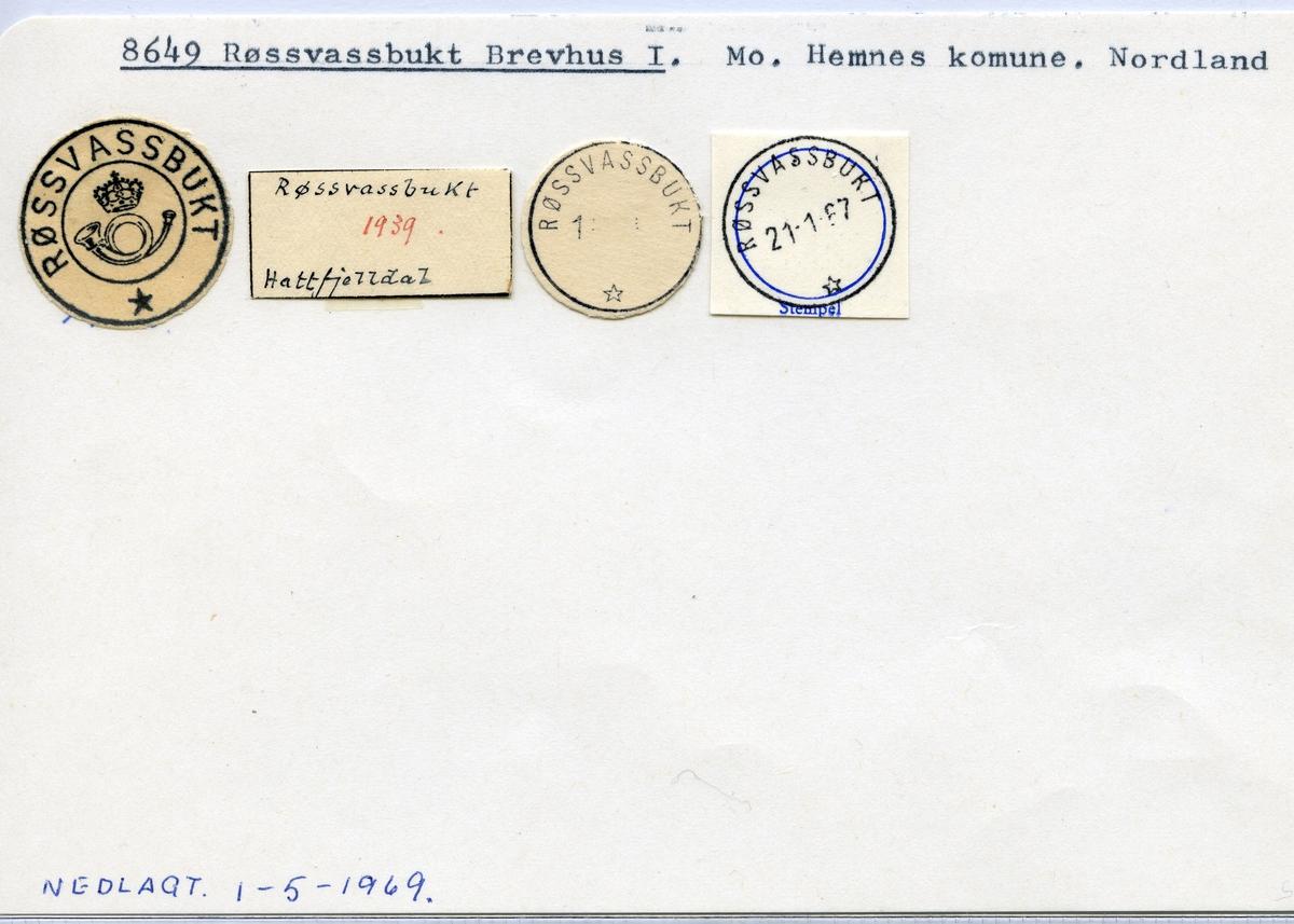 8649 Røssvassbukt, Hemnes, Nordland