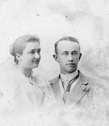 Christian Homann Murer og frue.