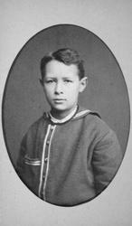 Christian Thams 8 år.