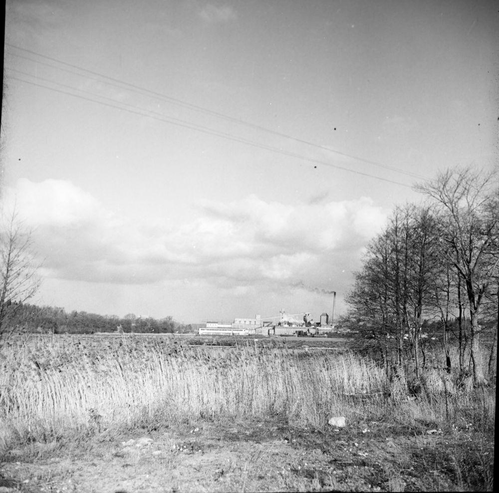 Utsikt från Hunneberg 1958