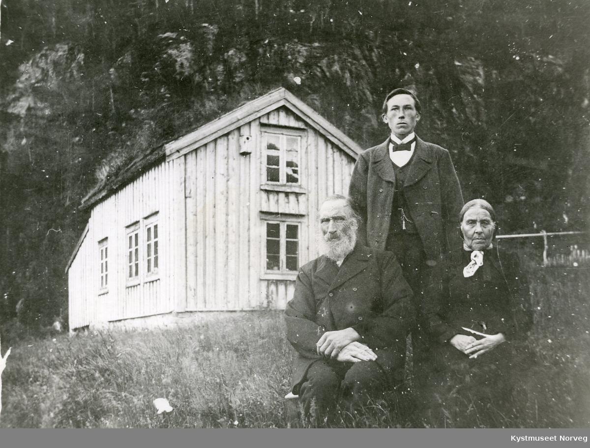 Ole Olsen og Jonetta Pauline Kjøløymoen og Olav Kvisterø