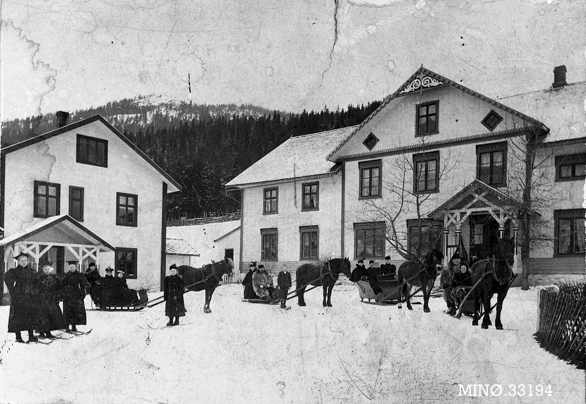 Hestefølge Nordre Hårset gård