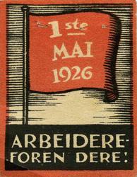 Arbeiderpartiets 1. mai-merke fra 1926