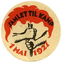 Arbeiderpartiets 1. mai-merke fra 1927
