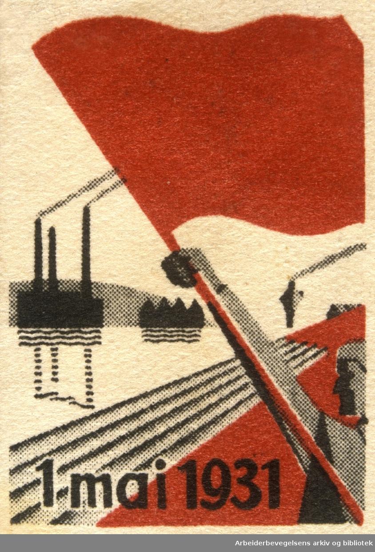 Arbeiderpartiets 1. mai-merke fra 1931