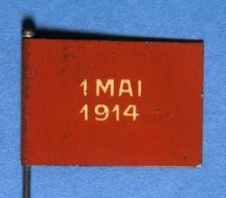 Arbeiderpartiets 1. mai-merke fra 1914