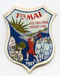 Arbeiderpartiets 1. mai-merke fra 1917