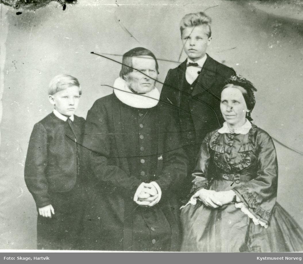 Ukjent Prestefamilie